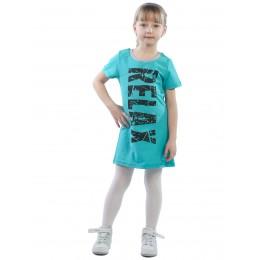 Платье детское RELAX КП5015П2 бирюзовый
