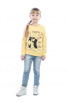 Свитшот детский Dancing ФС5018П2 желтый