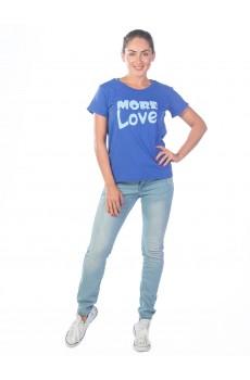 Футболка  женская More love КФ1383П3
