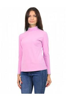 Водолазка ЛВ0295 Женская без принта длинное горло розовый