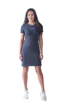 Платье  КЛП1390П6 серый