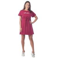 Платье re Flex женское КЛП1435П2 бордовый