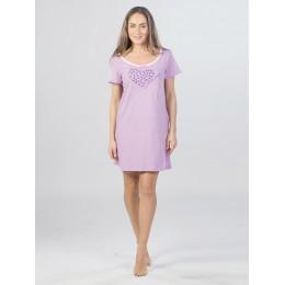 Сорочка женская Моя любимая ночнуха КС1367П3 сиреневый