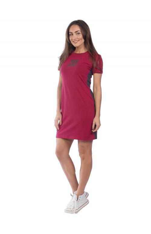 Платье  КЛП1390П7 бордовый