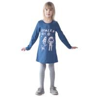 Платье детское Space Gerl КП5027П2 индиго