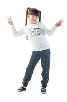 Пижама детская Космос КП5007П4 синий