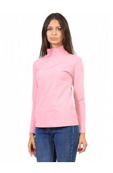 Водолазка  ЛВ0296 Женская без принта короткое горло розовый
