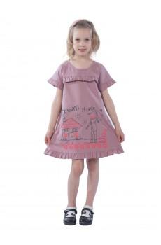 Платье детское Dream Home КЛП5026П1 розовый