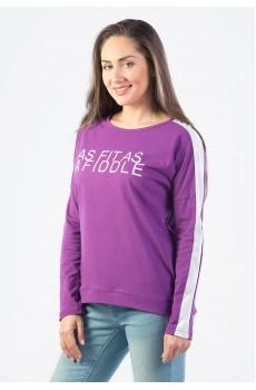 Лонгслив женский Asfitas Afiddle КЛ1353П2 фиолетовый