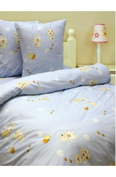 Комплект постельного белья 1,5-спальный  арт. с-129/4044-01Б
