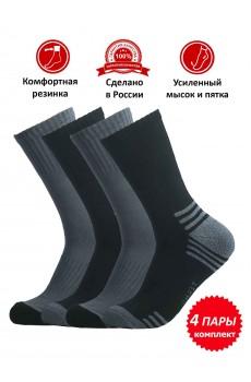 Набор носков мужских НКЛТ-1, цвет ассорти, 4 пары