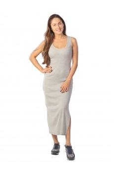 Платье из кашкорсе серое КШП1387