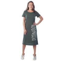 Платье женское Destination  КП1422П1 хаки
