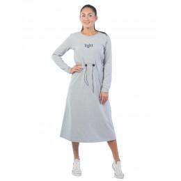 Платье женское Light КЛП1447П1 серый меланж