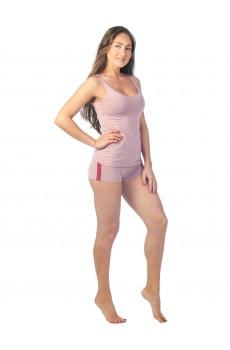 Шорты женские КЛШ1398 темно-розовые