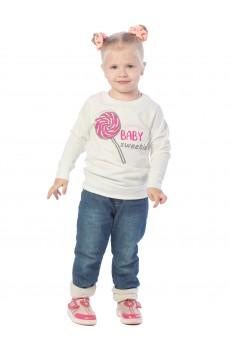 Свитшот детский Bаby sweetie ФС5018П1 молочный