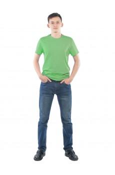 Футболка мужская КФ1104 меланж зеленый