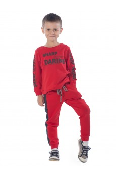 Костюм детский Sharp daring ФК5017П1 красный