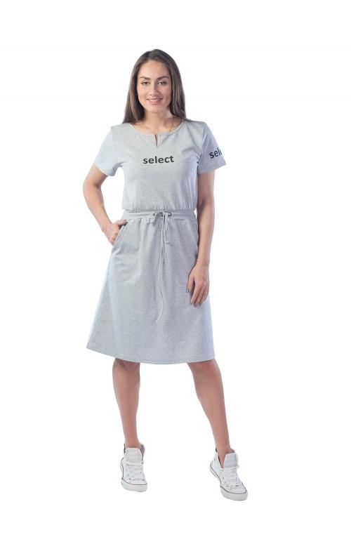Платье Select женское КЛП1434П1 светло-серый