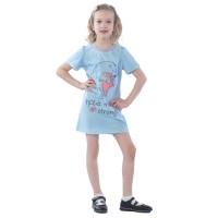 Платье детское Обнимашки КЛП5015П1 светло-голубой